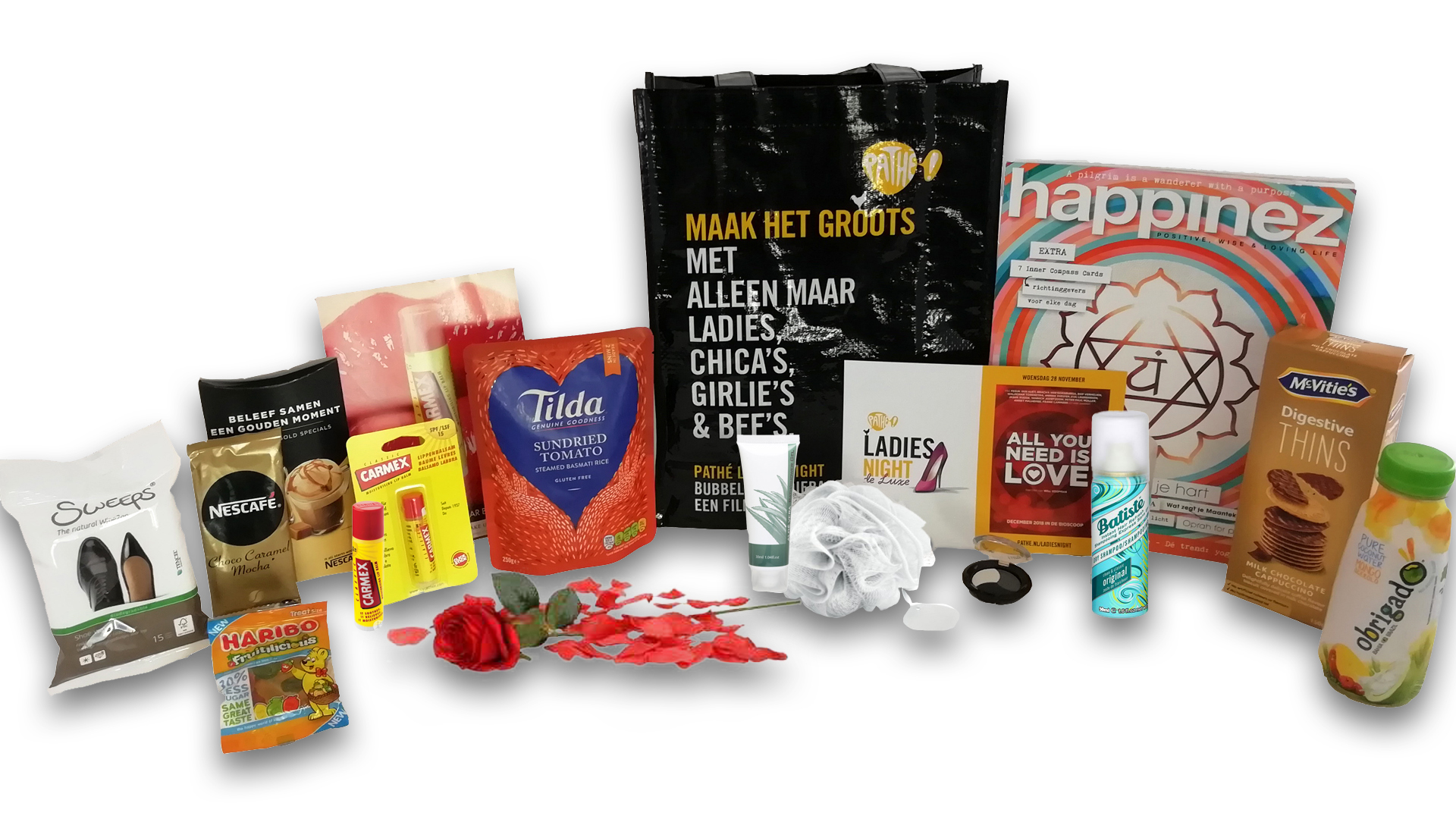 goodiebag de luxe All you nee is love