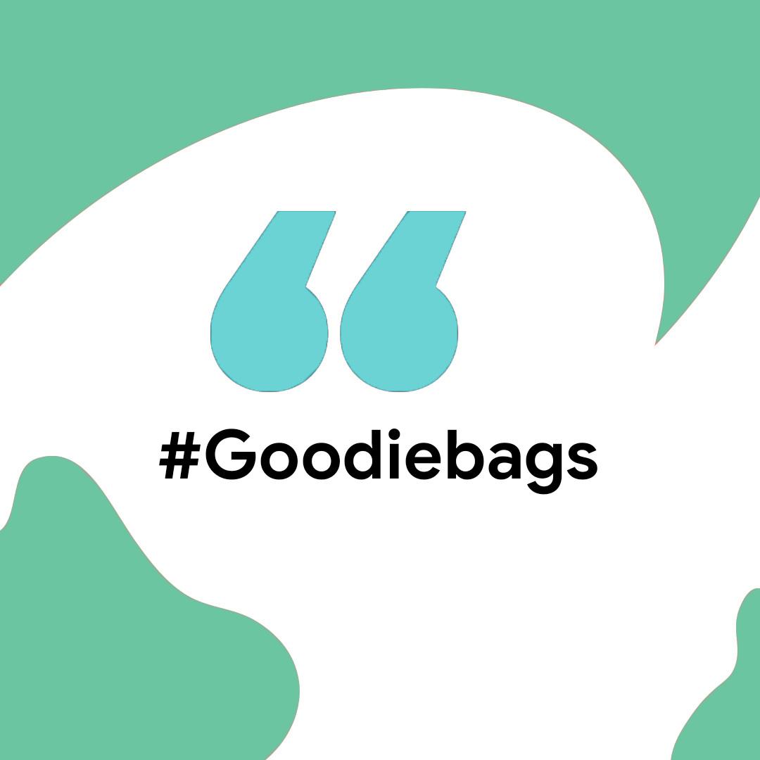 #Goodiebags