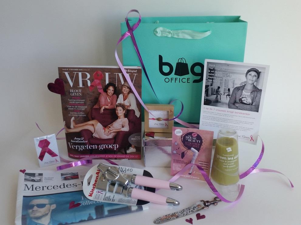 Pink Ribbon Goodiebag