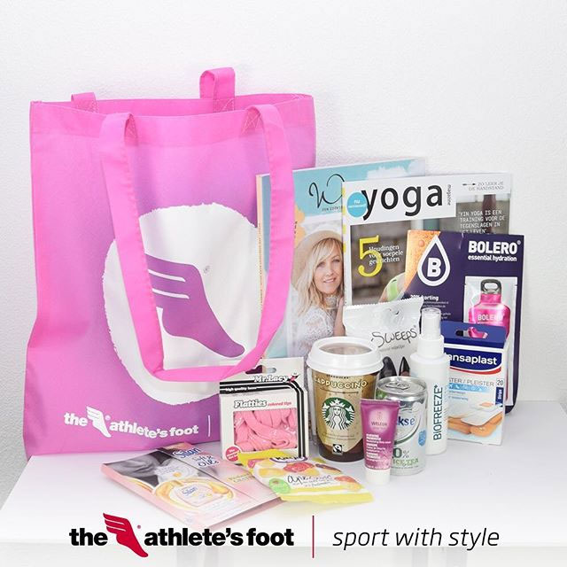 The Athlete's Foot goodiebag