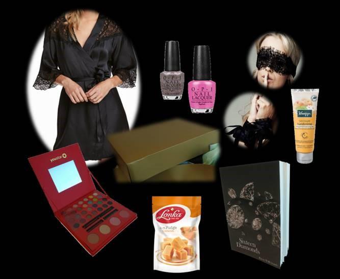 ladiesnight golden goodiebag FSF