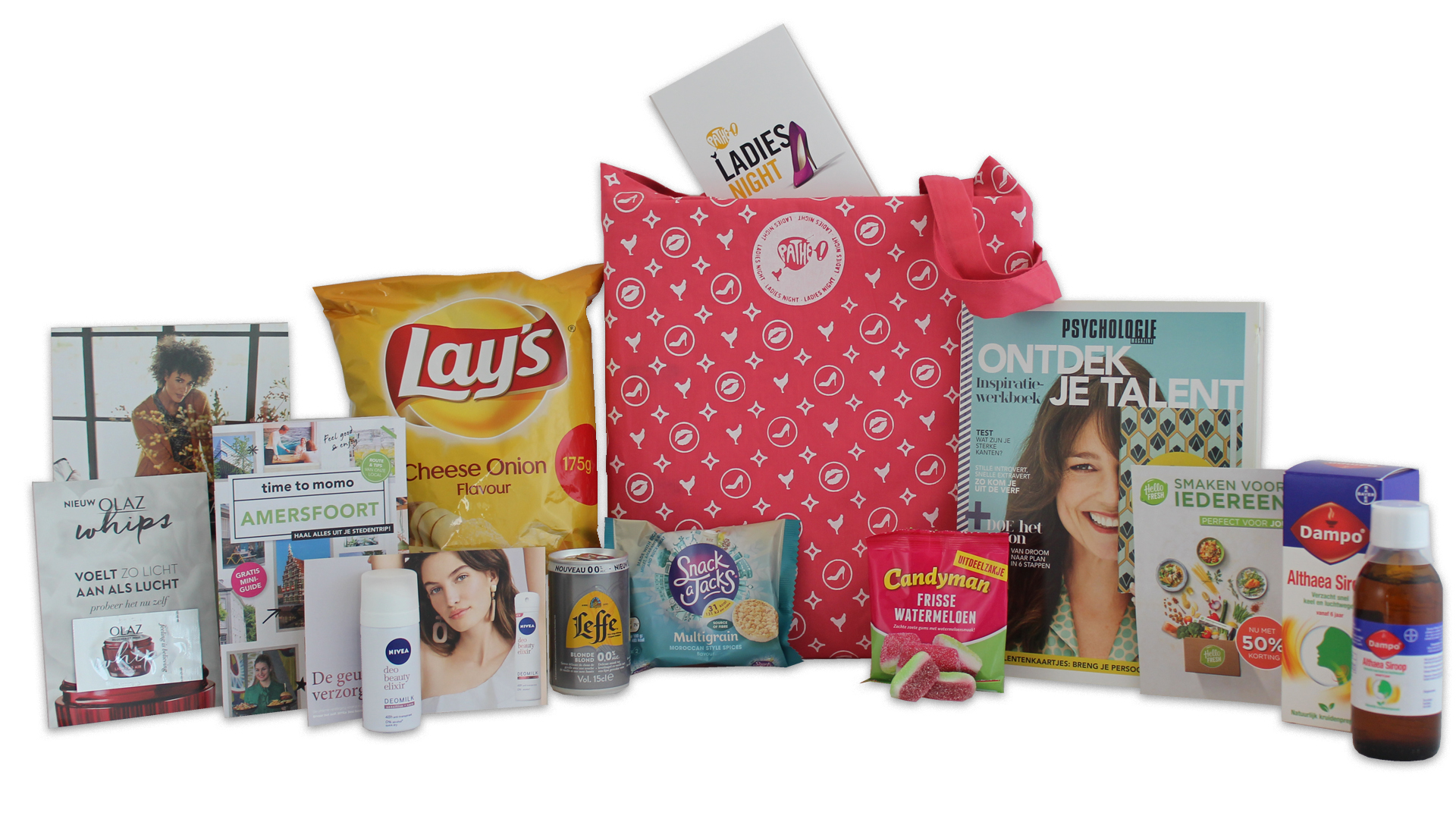 goodiebag ladiesnight pathe