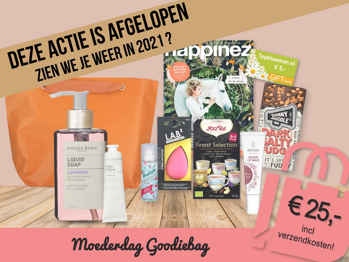 Moederdag Goodiebag 2021