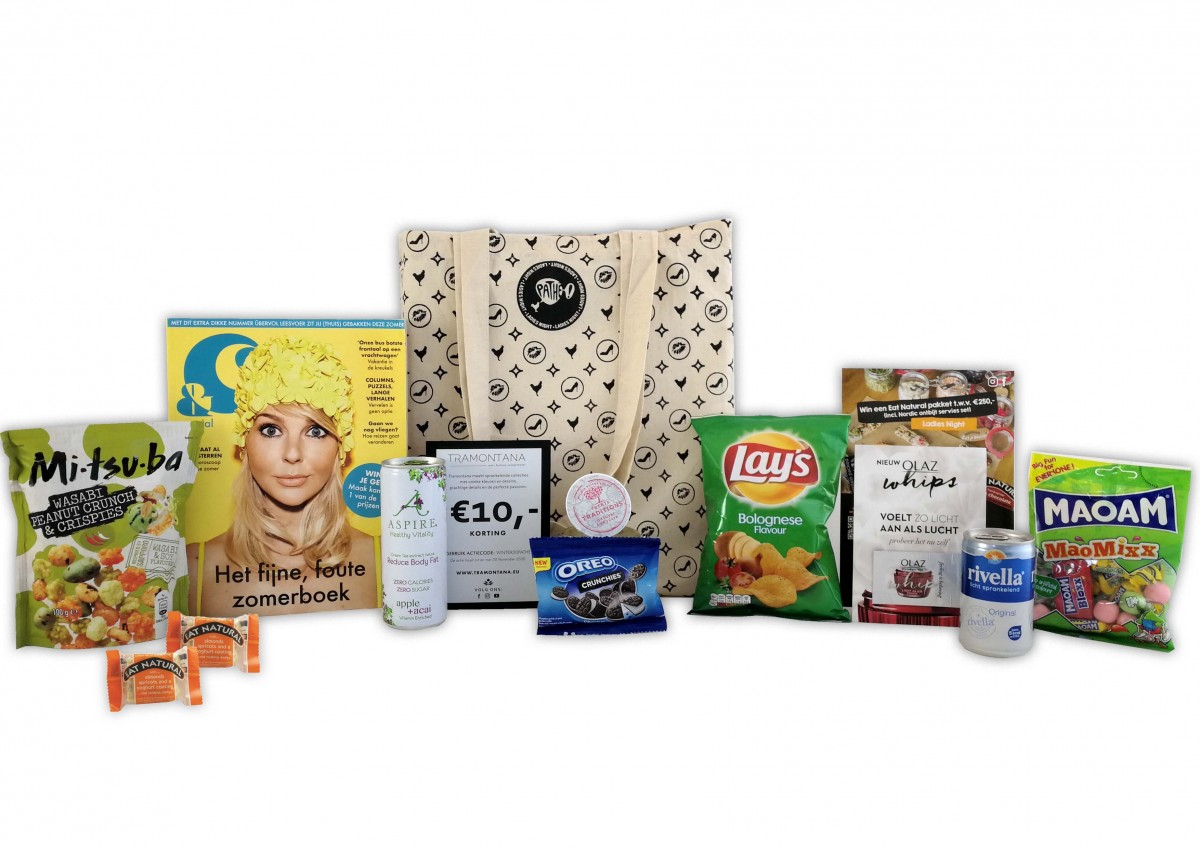 Pathe ladies night goodiebag bagoffic