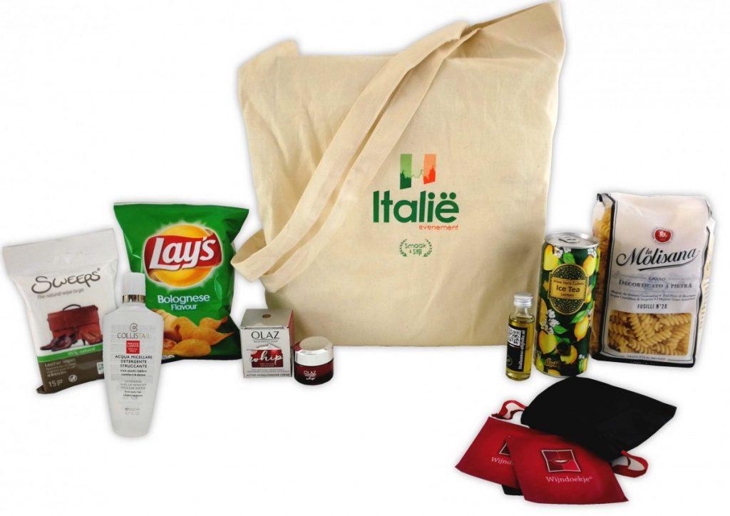 Italie events Goodiebag BagOffice