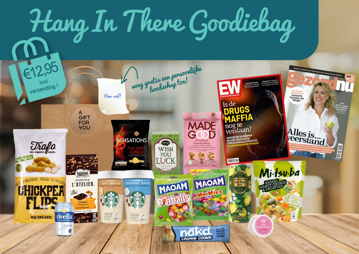 BagOffice Hang In There Goodiebag