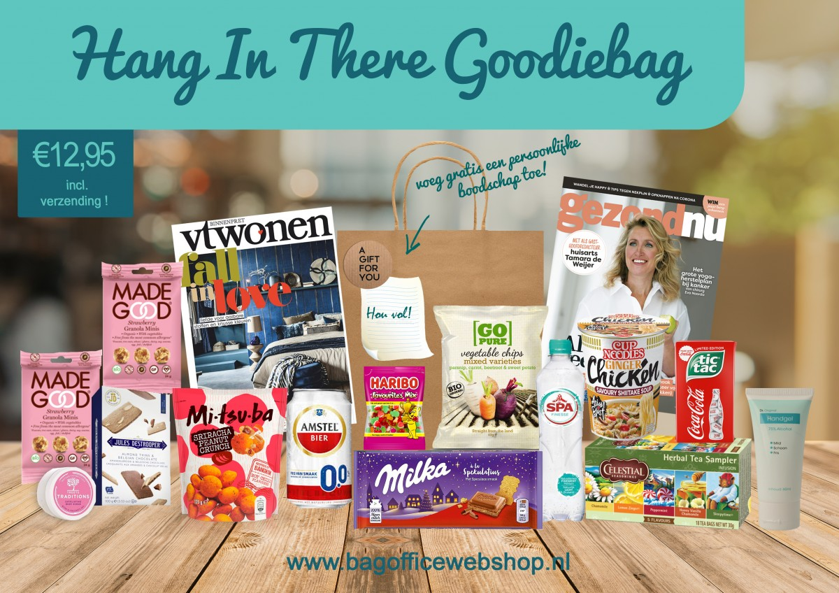 Hang In there Goodiebag BagOffice