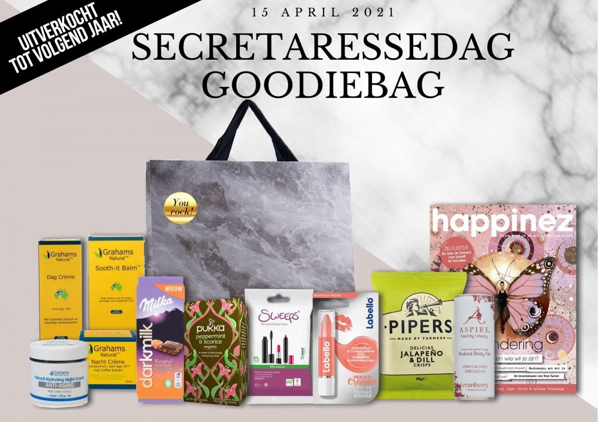 Secretaressedag Goodiebag 2021 uitverkocht